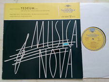 Pepping, Ernst Tedeum (1956) For Choir Two Solostimmen Orchestra DGG Tulip