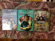 SCRUBS- 3 stagioni complete e originali