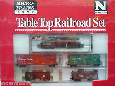 Canadian Pacific Atlas GP-7 #8411 N Scale Micro-Trains Table Top Set NIB