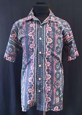 POLO RALPH LAUREN 'VINTAGE CAMP' Multi Color 100% Cotton Shirt Size M