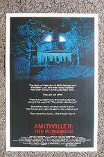The Amityville Horror Part 2 Lobby Card Movie Poster