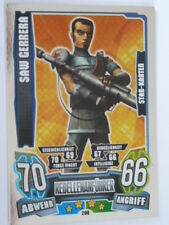 Force Attax Clone Wars Serie 4 (2013), Saw Gerrera (208), Star-Karten