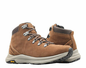 Merrell Ontario Suede Mid Earth Brown Men's Hiking Boots J65393