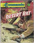 "Dated 1966. Vintage COMMANDO War Picture Comic # 200. ""Desert Rat"""