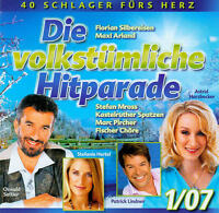 DCD Volkstümliche Hitparade 01/2007  40 Schlager fürs Herz (Kastelruther)