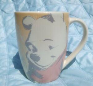 WINNIE THE POOH MUG DISNEY STORE EXCLUSIVE TEA COFFEE CUP BEAUTIFUL VGC