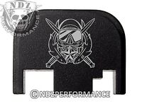 for Glock Rear Plate 17 19 21 22 23 27 30 34 36 41 Blk G1-4 Special forces Dive