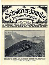 Idyll nüschenegg kistenpaß Glarus histórica grabación (título hoja) de 1908