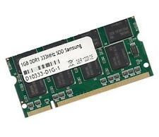1gb RAM Gericom Blockbuster excellent 5000 1540 333 MHz DDR memoria pc2700
