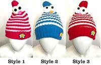 Autumn Warm Winter Baby Girl Boy Kids Soft Cotton Beanie Hat Cap