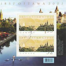 Canada 2007 Ottawa as National Capital Souvenir Sheet