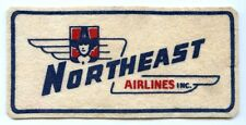 Great Large 1950's Northeast Airlines (NEA) Uniform Patch in Flocked Felt