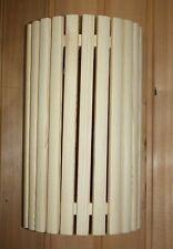 SAUNA Paralume per lampada parabola COPERTURA ANGOLARE schermo di legno conifera