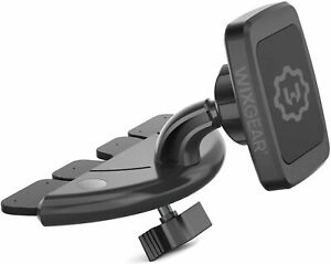 WixGear CD Slot Magnetic Car Mount Holder for Cell Phones NEW RECTANGLE HEAD