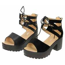 Women's Synthetic Leather Platforms, Wedges Block Sandals & Beach Shoes