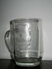 1 Lion Brown More of a Beer Sturdy Hotel Quality Glass Beer Mug 0.5L 13cm High