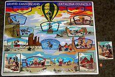 GRAND CANYON 432 & CATALINA 494 AZ 2013 JAMBOREE 2017 FLAP 15-PATCH LOONEY TOONS