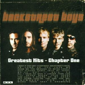 Backstreet Boys : Greatest Hits-Chapter One CD Expertly Refurbished Product