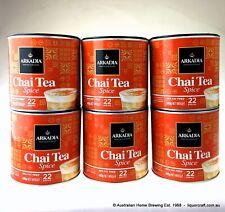 6 x Arkadia Chai Latte Spice 440g Chai Tea Spice Chai Powder cafe