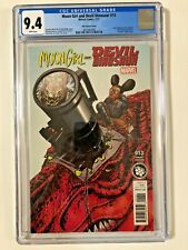 Moon Girl And Devil Dinosaur #13 CHIN STEAM VARIANT CGC 9.4 White Pages 2017