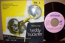 TEDDY BUCKNER VOL 5,  VOGUE RECORDS FRANCE 1950'S  MINT-