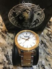 Women's Lady Wrist Watch Versus Versace classic elegant steel sport SOJ11