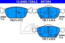 Bremsbelagsatz, Scheibenbremse für Bremsanlage Vorderachse ATE 13.0460-7284.2