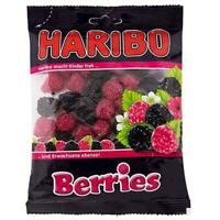 HARIBO Berries Gelatin Fruity Gummy Chewy Candy Kid Gift Party Berrie Shape 200g