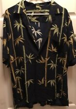 Hawaiian Reserve Collection Bamboo Rayon Shirt Mens size Large