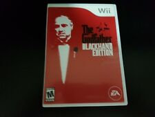 The Godfather: Blackhand Edition [Wii] [Nintendo Wii] [2007] [Complete!]
