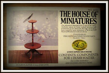 DOLL HOUSE OF MINIATURES DUMB WAITER KIT,COLONIAL ANTIQUE REPLICA, DINING ROOM
