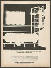 GENERAL AMERICAN INTERNATIONAL - Industrial Equipment - 1964 Vintage Print Ad