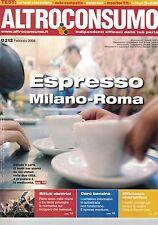 2008 02 - ALTROCONSUMO - 02 2008 - N.212 - ESPRESSO MILANO-ROMA