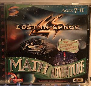 VTG Lost in Space Animated Math Adventure PC Windows & Macintosh