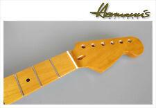 Stratocaster Roasted Canadian Maple Neck mit Roasted Maple Fretboard, 22 Frets