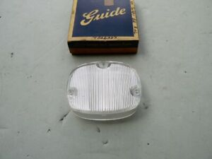 NOS CADILLAC 1959 BACK UP LAMP LENS FITS EITHER SIDE  k