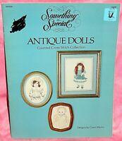 Something Special Antique Dolls Cross Stitch Leaflet French Dolls Bebe Jumeau