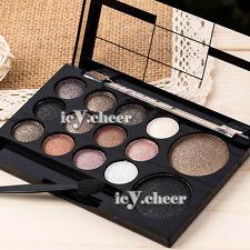 14 Colour Makeup Neutral Eye Shadow Shimmer Smokey Nude Warm Eyeshadow Cosmetics