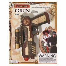 Fake Plastic STEAM PUNK GUN, ACCESSORIES, FANCY DRESS