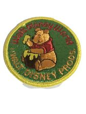 "Walt Disney Character Patch ""Winnie the Pooh"" Walt Disney World"