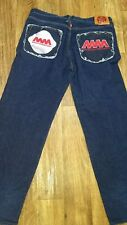 RMC Martin Ksohoh ASIA ACT AGAINST AIDS denim jean size 38