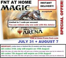 MAGIC MTG Arena Code FNM Home Promo Pack JUL 31 AUG 7 JULY 31 AUGUST 07 INSTANT