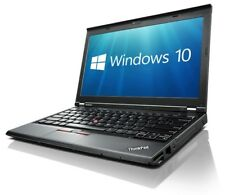 "Lenovo ThinkPad X230 12.5"" Widescrn Laptop i5 2.6GHz 4GB 320GB Win 10 Pro 64"