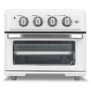 1800-Watt 6-Slice White Toaster Oven and Air Fryer