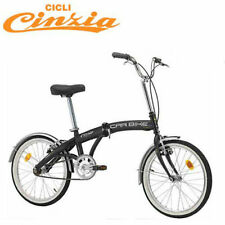 "Vélo pliant CINZIA CAR BIKE roues 20"" monovitesse train tgv NEUF folding bike"