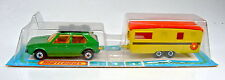 Matchbox rares Französisches Two-Pack 4 VW Golf & Trailer Caravan