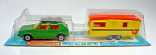 Matchbox rares Französisches Two-Pack 4 VW Golf & Trailer Caravan