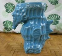 Tiki Mug Trader Vic's Blue Seahorse NEW