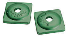 SNOWMOBILE ASW-3730 WOODY'S 7mm GREEN ALUMINUM STUD BACKER SUPPORT PLATE