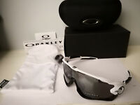 NEW Oakley Jawbreaker Sunglasses Polished White / Prizm Black Iridium OO9290-29